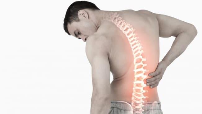 inner back pain